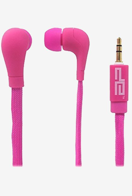 Zeeva ShoeLace Earphone (Pink)