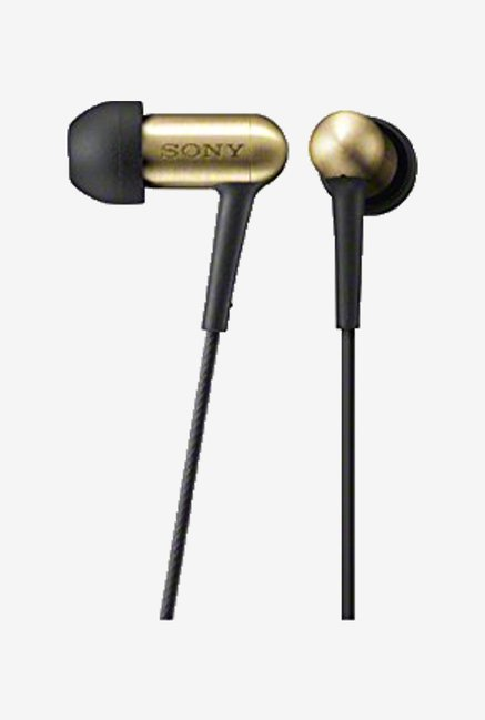 Sony Xba100 Q In the Ear Headphone (Gold)