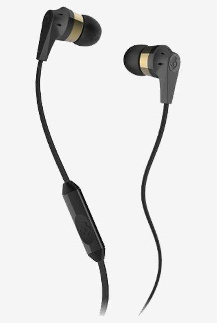 Skullcandy Supreme S2IKDY-144 Headphone (Gold/Black)
