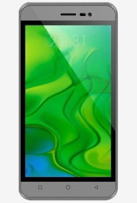 Intex Aqua Air II 16.7M Color Support Smartphone (Grey)
