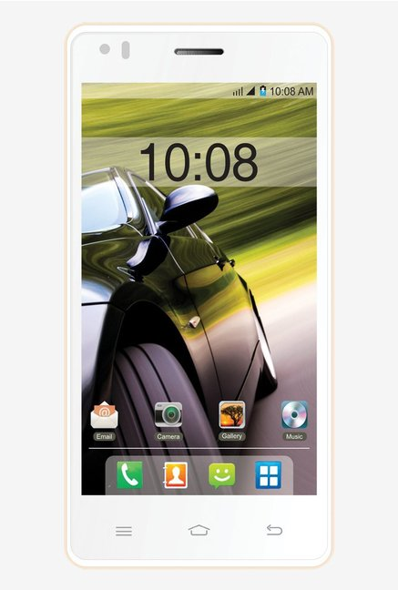 Intex Aqua Speed HD Android v4.4 KitKat (Beige White)