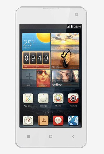 Intex Aqua Active Android 4.4.2 KitKat OS (White)
