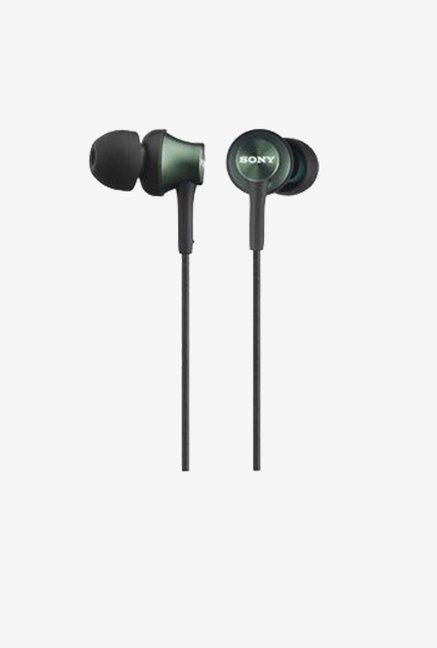 Sony MDR-EX450-G In the Ear Monitor Headphones (Metal Green)