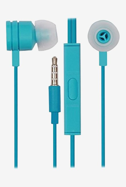 Jkobi In the Ear Bud Headset Earphones With Mic (Blue)