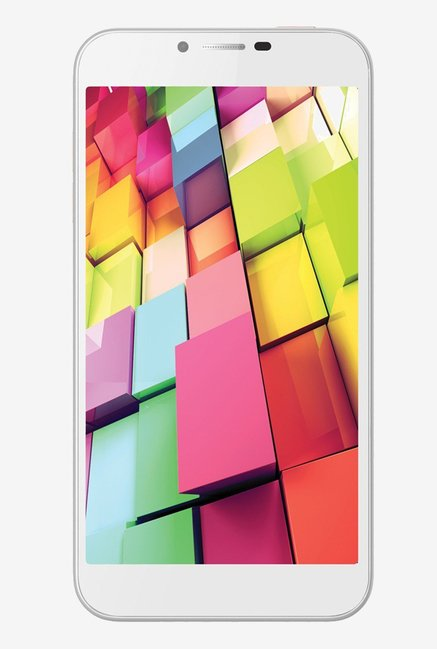 Intex Aqua 4G Plus IPS Display (White)