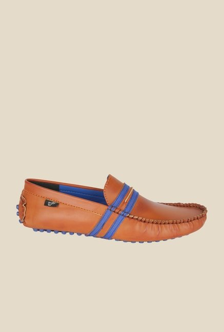 Wega Life Fusion Tan & Blue Loafers