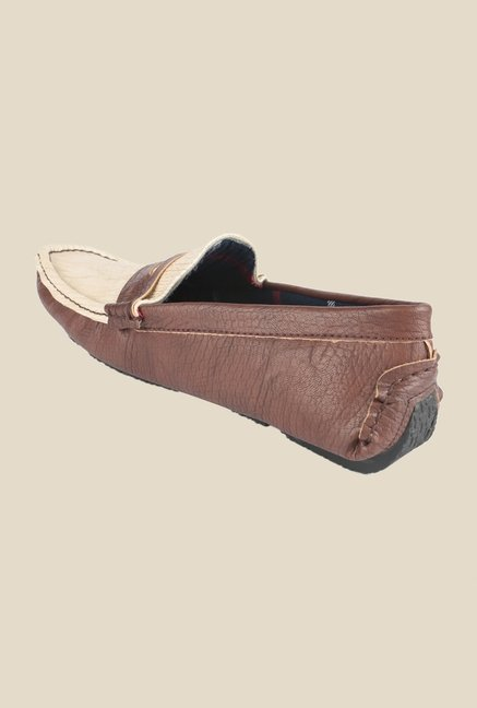 Wega Life Dulce Brown & Beige Loafers