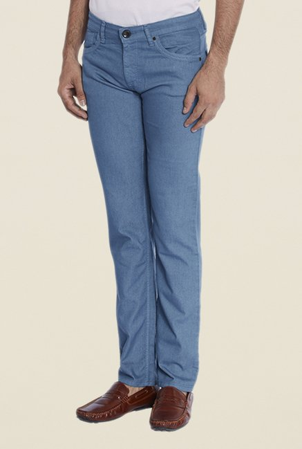 Park Avenue Blue Raw Denim Jeans
