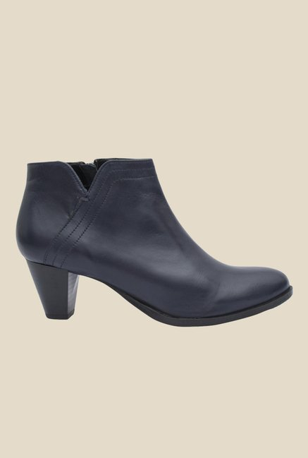 Salt 'n' Pepper Rosy Navy Booties