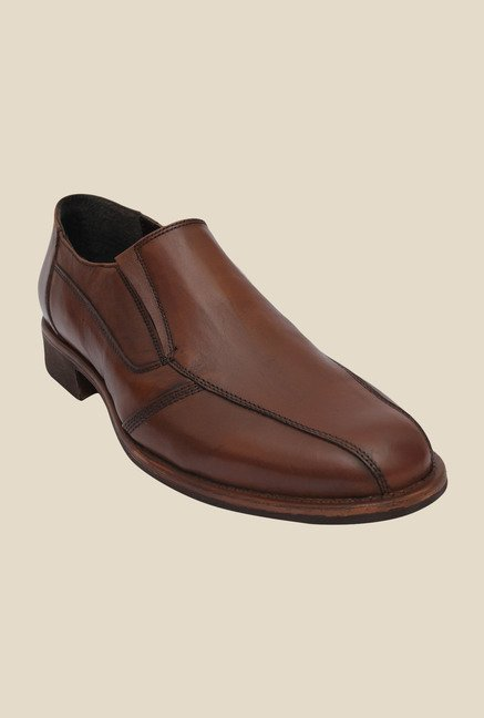 Salt 'n' Pepper Mix Almond Formal Shoes