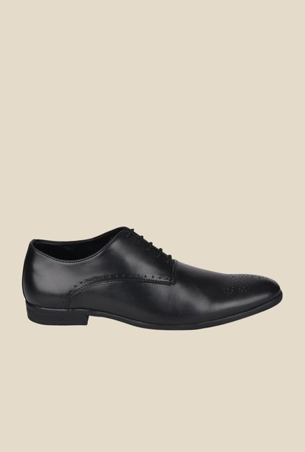 DaMochi Warsaw Black Oxford Shoes