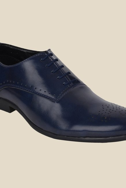 DaMochi Seoul Navy Oxford Shoes