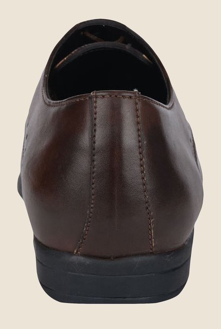 DaMochi Warsaw Brown Oxford Shoes