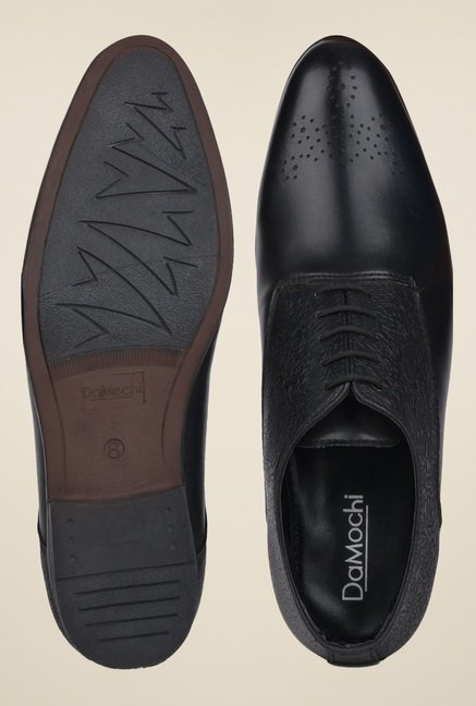 DaMochi Oslo Black Oxford Shoes