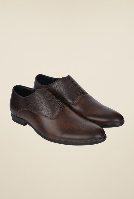 DaMochi Oslo Brown Oxford Shoes