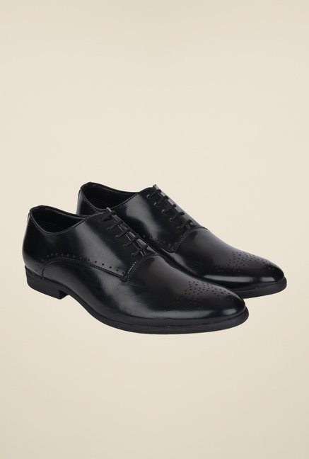 DaMochi Seoul Black Oxford Shoes