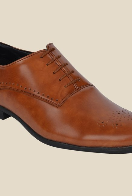 DaMochi Seoul Tan Oxford Shoes