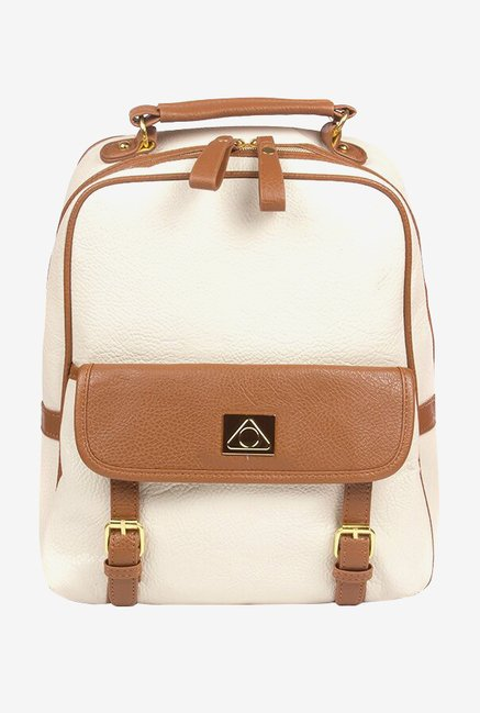 "Stuffcool Perse Fashion Backpack for 11"" Laptop (Beige)"
