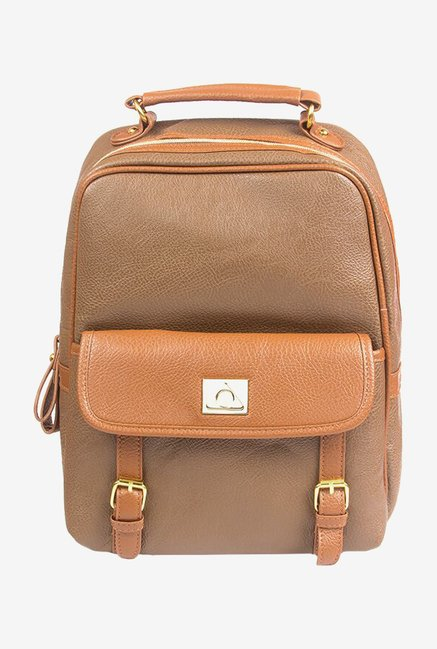 "Stuffcool Perse Fashion Backpack for 11"" Laptop (Khaki)"
