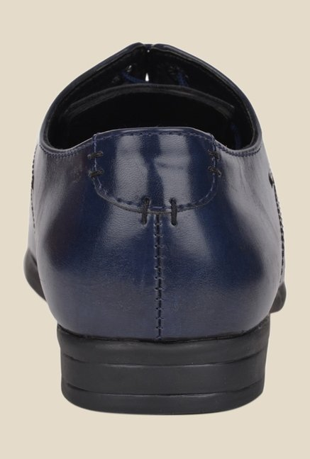 DaMochi Quebec Navy Derby Shoes