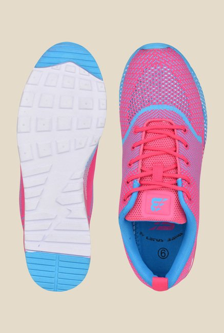 Lotus Bawa Pink & Blue Running Shoes