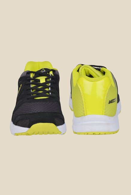 Lotus Bawa Black & Green Running Shoes