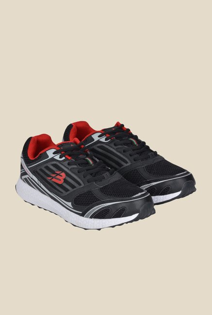 Lotus Bawa Black & Red Running Shoes