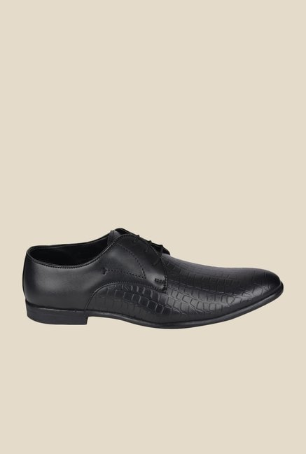 DaMochi Dublin Black Derby Shoes