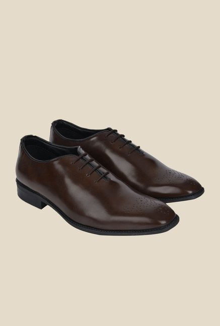 DaMochi Imper Brown Formal Shoes