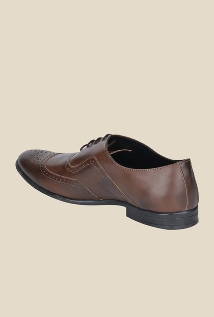 DaMochi Alson Brown Brogue Shoes