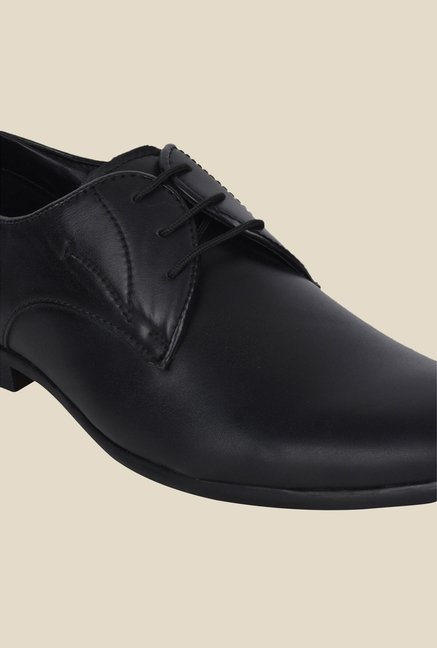 DaMochi Nata Black Derby Shoes