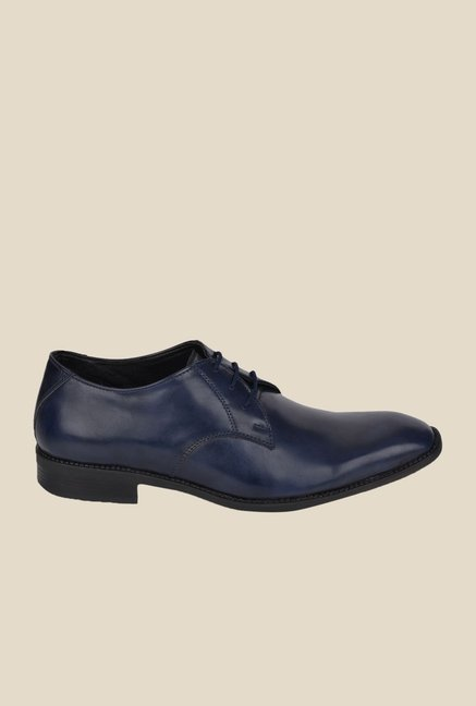 DaMochi Bogota Navy Derby Shoes