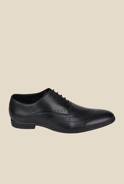 DaMochi Boris Black Oxford Shoes