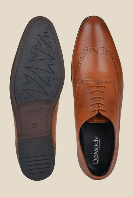 DaMochi Boris Tan Oxford Shoes