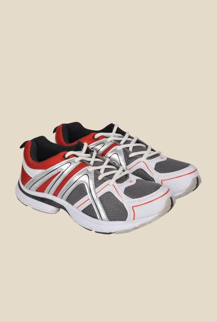Wega Life Xplore Grey & Red Running Shoes