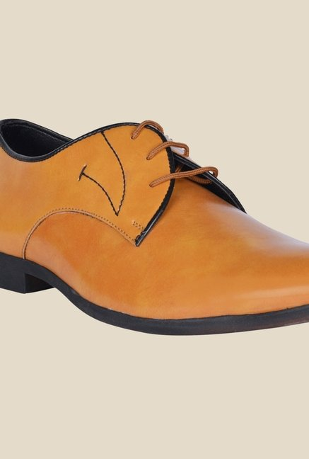 DaMochi Elixir Camel Derby Shoes