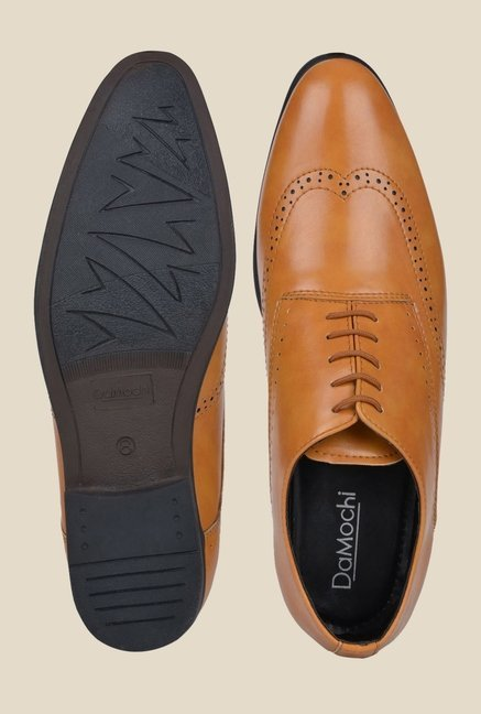 DaMochi Darwin Camel Oxford Shoes