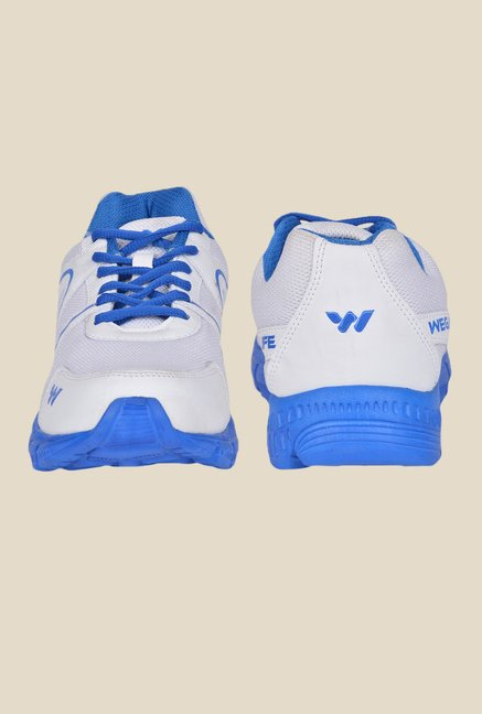 Wega Life Air White & Blue Running Shoes