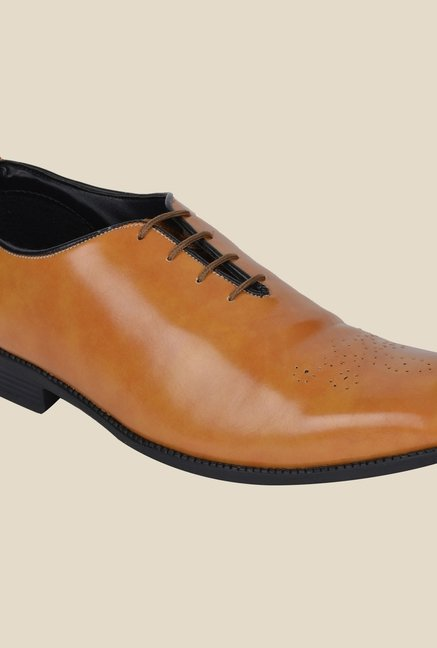 DaMochi Imper Camel Formal Shoes