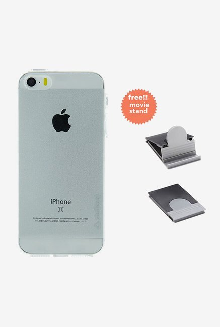 Stuffcool Back Case for Apple iPhone 5/5S/SE (Clear)