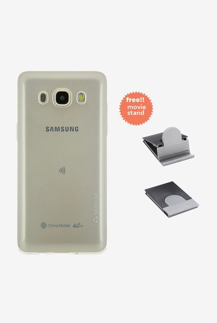 Stuffcool Pure Back Case for Samsung Galaxy J5 (Clear)