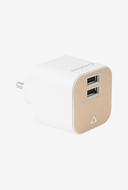 Stuffcool WCZNT-GLD USB Charger (Golden)