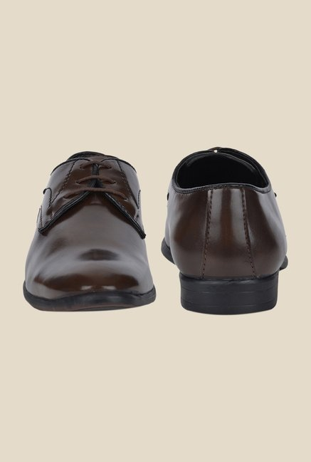 DaMochi Elixir Brown Derby Shoes