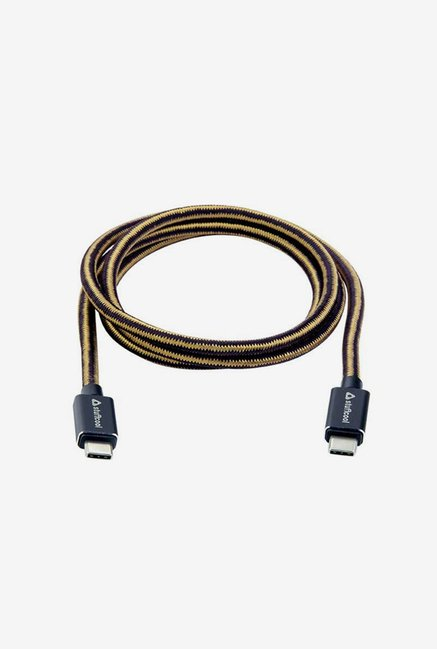 Stuffcool KNIGHT-BLK 1.5 m USB Cable (Black)