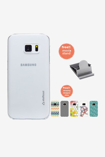 Stuffcool Clair Fab Back Case for Samsung Galaxy S7  Clear