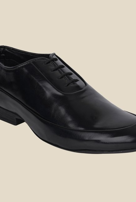 DaMochi Famos Black Formal Shoes