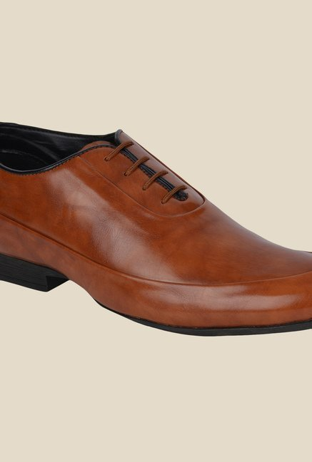 DaMochi Famos Tan Formal Shoes