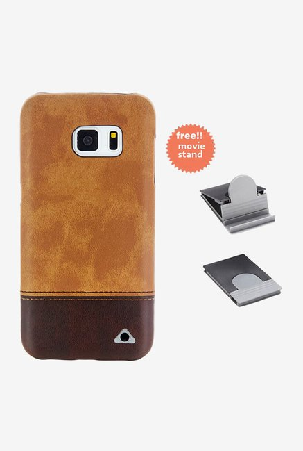 Stuffcool Vogue Back Case for Samsung Galaxy S7 (Brown)