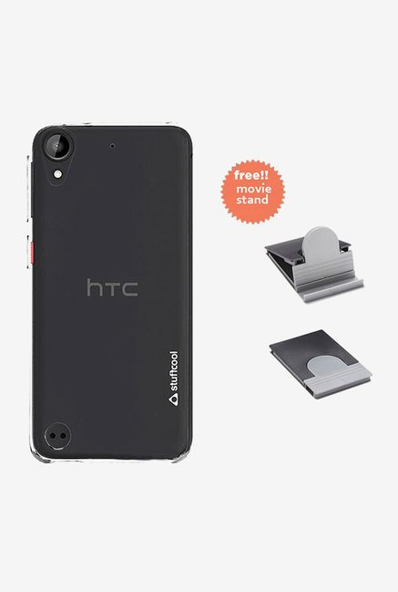 Stuffcool Clair Back Case for HTC Desire 630 (Clear)