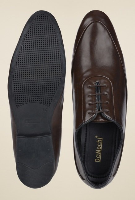 DaMochi Famos Brown Formal Shoes